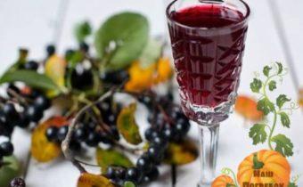 vino iz chernoplodnoj rjabiny prostoj recept bez drozhzhej