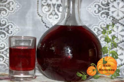 vino iz malinovogo povidla