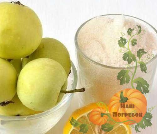 yabloki-limon-i-sahar-dlya-varenya