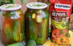 ogurcy-na-zimu-s-ketchupom-chili-v-litrovyh-bankah