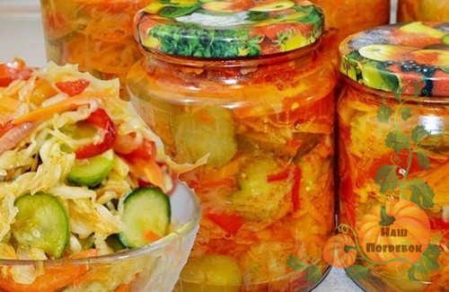 ovoshchnoj-salat-na-zimu-v-bankah-i-salatnice
