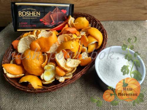 produkty-dlya-shokoladnyh-cukatov-iz-mandarinovyh-korok