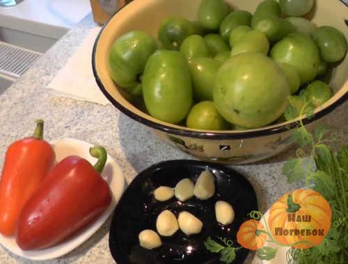 produkty-dlya-farshirovaniya-zelenyh-pomidor