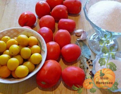 zheltaya-alycha-i-pomidory