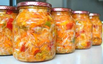 recepty-Ohotnichego-salata-na-zimu-bez-sterilizacii